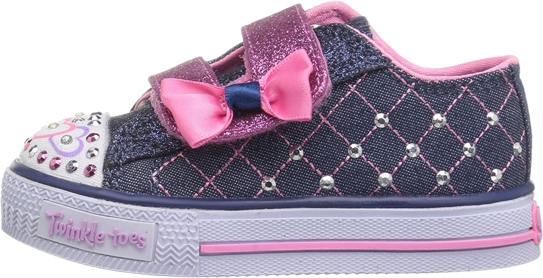 Skechers Kids Shuffles-Glitter Crush Sneaker