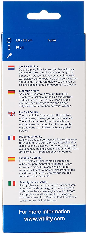 Vitility 5 Pins Ice Pick 10cm Length: Amazon.co.uk: Health ...