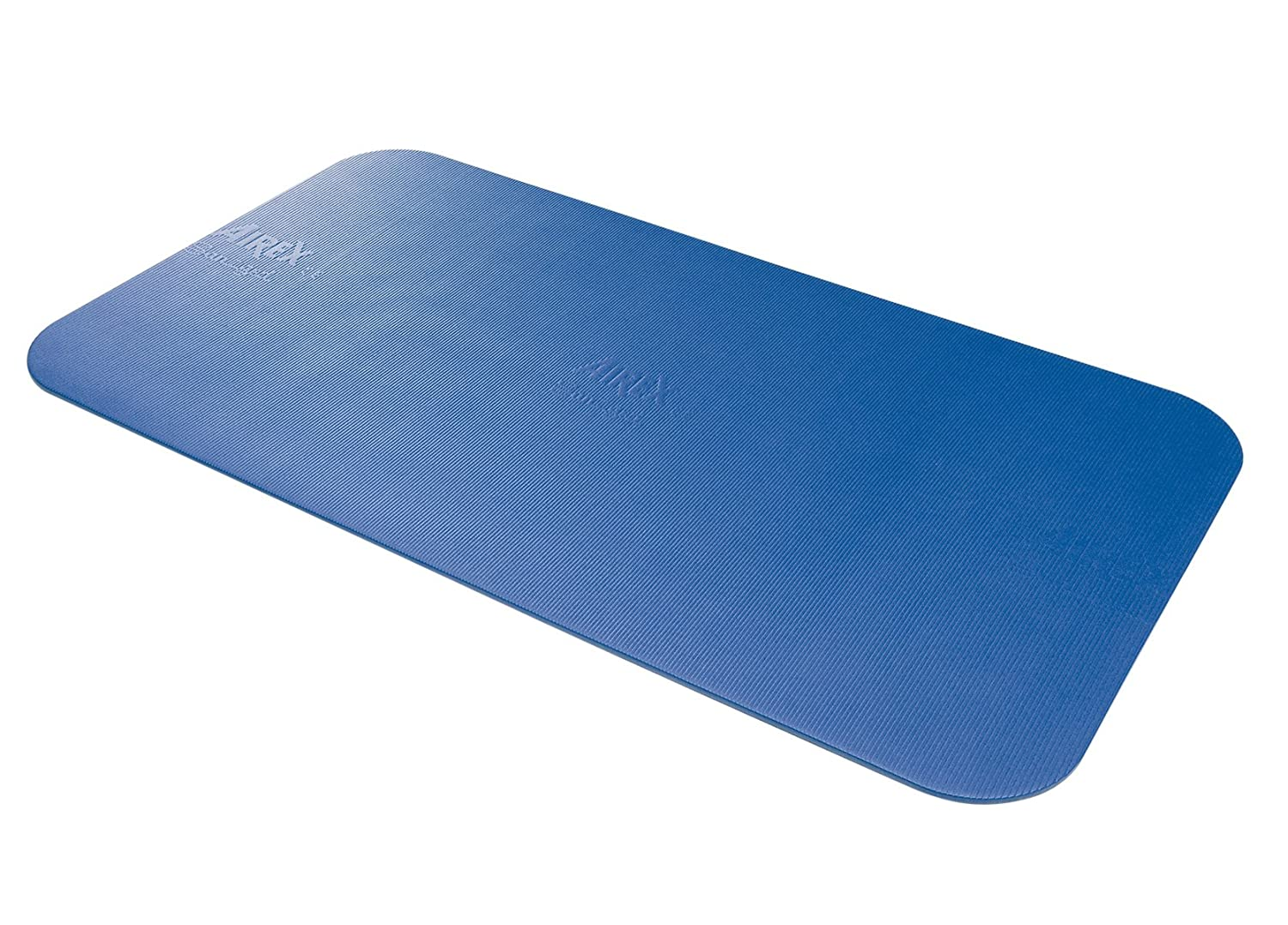 Airex Corona Workout Exercise Mat for Fitness, Gym Floor, Yoga, Pilates – Blue, 72 x 39 x 5 8