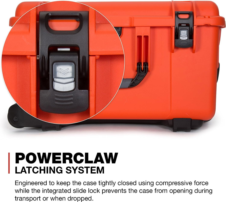 Nanuk 960 Waterproof Hard Case with Wheels Empty Black