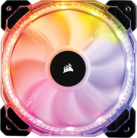 Corsair HD120 RGB - Ventilador de PC (120 mm, Iluminación a LED ...