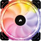 Corsair HD Series, HD120 RGB LED, 120mm High Performance RGB LED PWM single fan, no controller