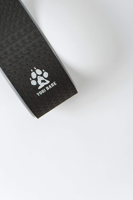 Yogi Bare Rueda de Yoga Antideslizante para Hacer estiramientos - Gris
