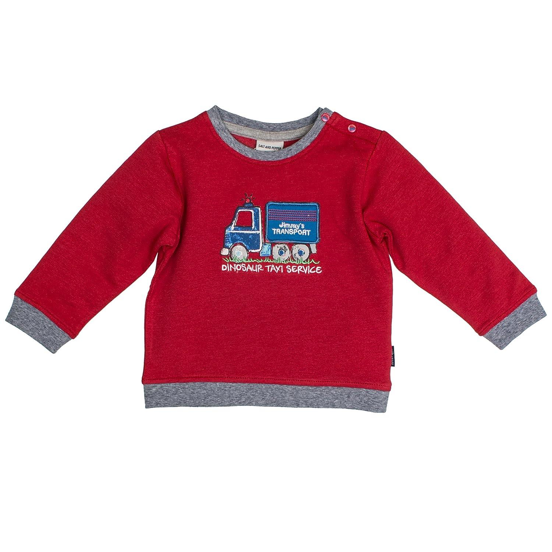 Salt & Pepper Baby Boys' B Sweat Little Man Uni Sweatshirt SALT AND PEPPER 85211130