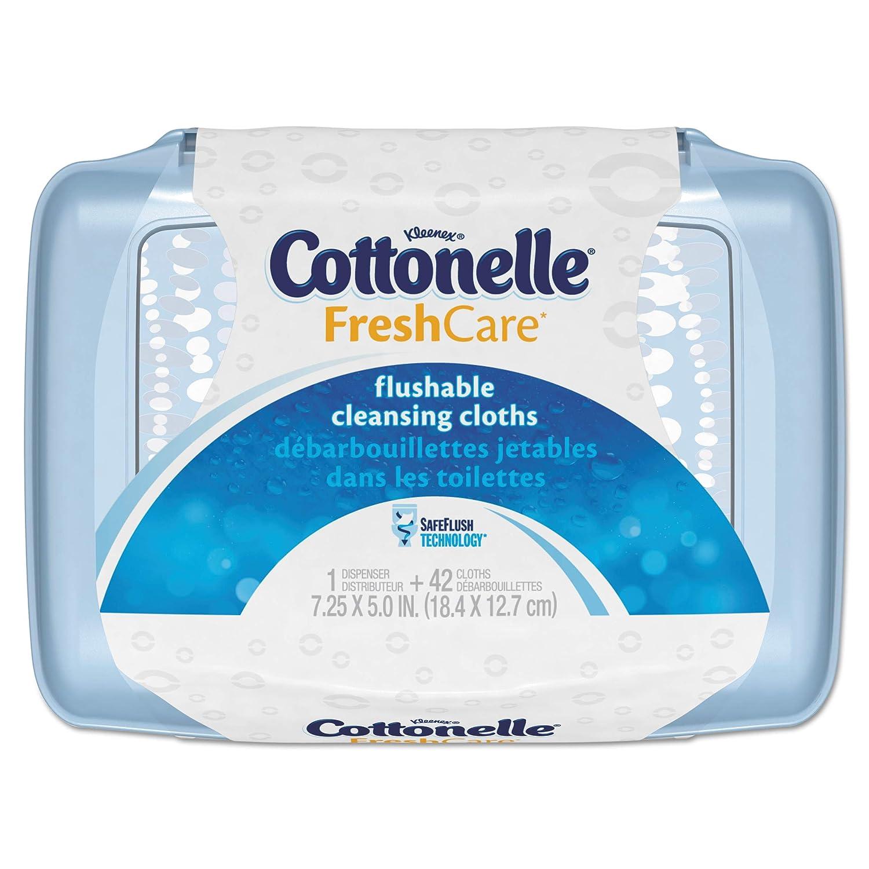 Cottonelle Fresh Care Flushable Cleansing Cloths 560 Cloths