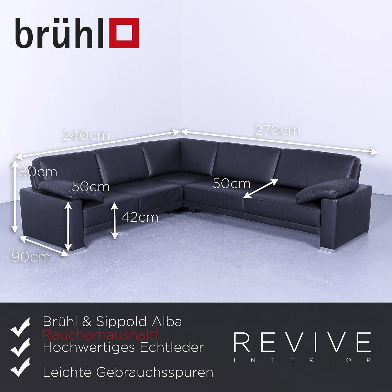 Wunderbar Brühl Und Sippold Beste Wahl Brühl & Alba Leather Corner Sofa/couch Genuine
