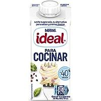 Nestlé Ideal Leche evaporada semidesnatada - Caja de leche evaporada 200 ml