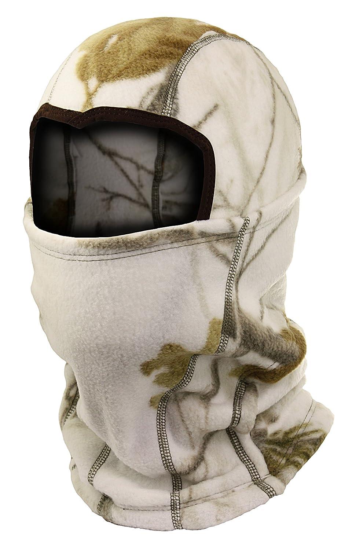 Zeek Outfitter Licensed Camouflage Fleece Ninja Balaclava with Polygiene