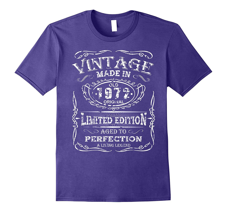 Vintage Premium Made In 1972 T-Shirt - Royalty Birthday Gift-T-Shirt