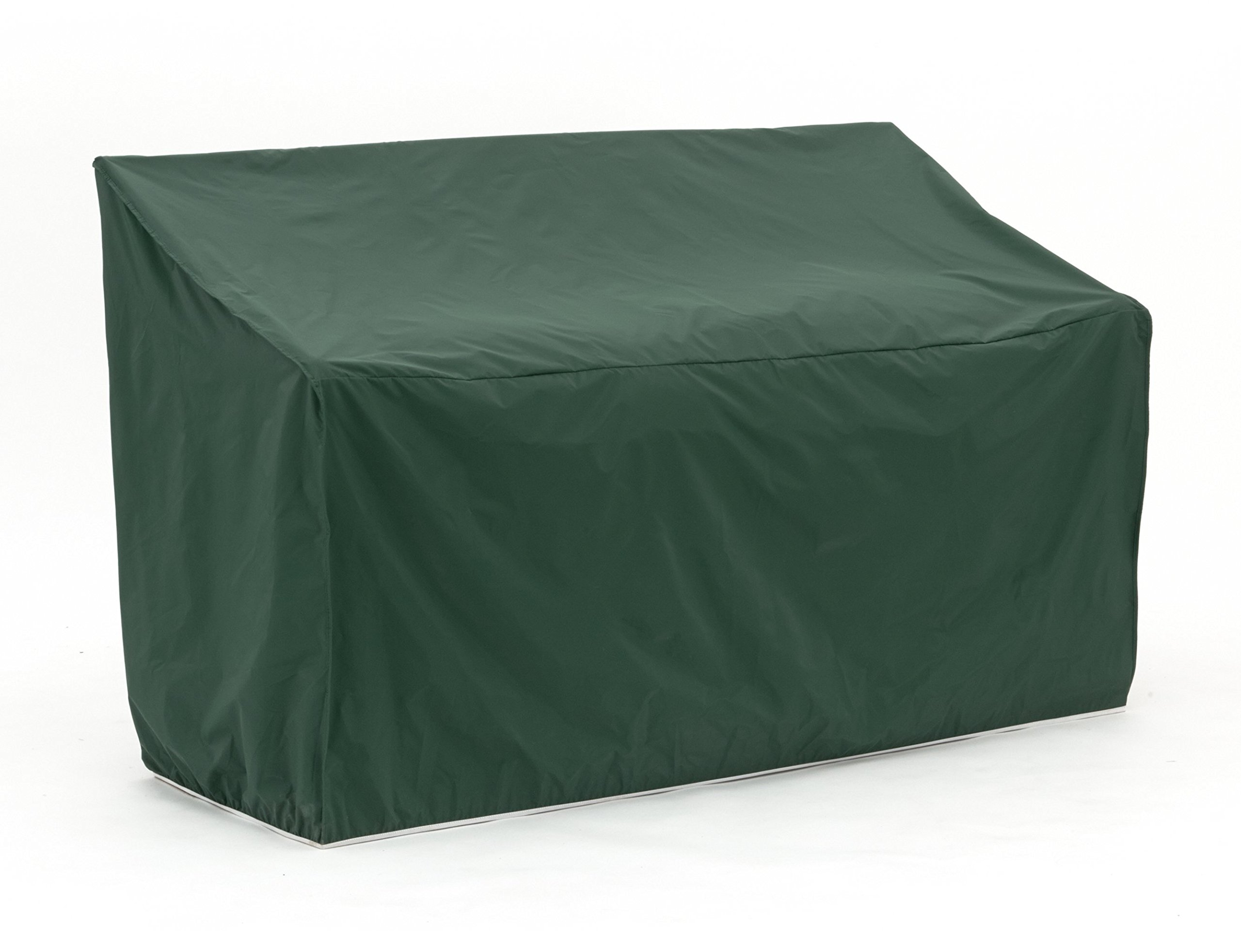 Covermates – Outdoor Patio Loveseat Cover – 64W x 34D x 30H – Classic Collection – 2 YR Warranty – Year Around Protection - Green