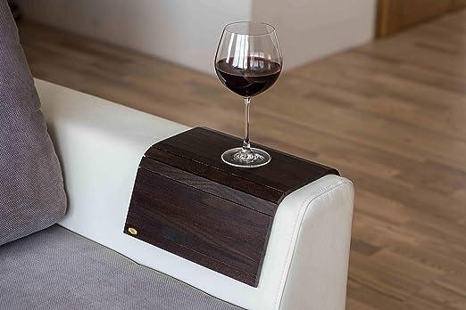 Compra Bandeja de madera para reposabrazos de sofá o mesa ...