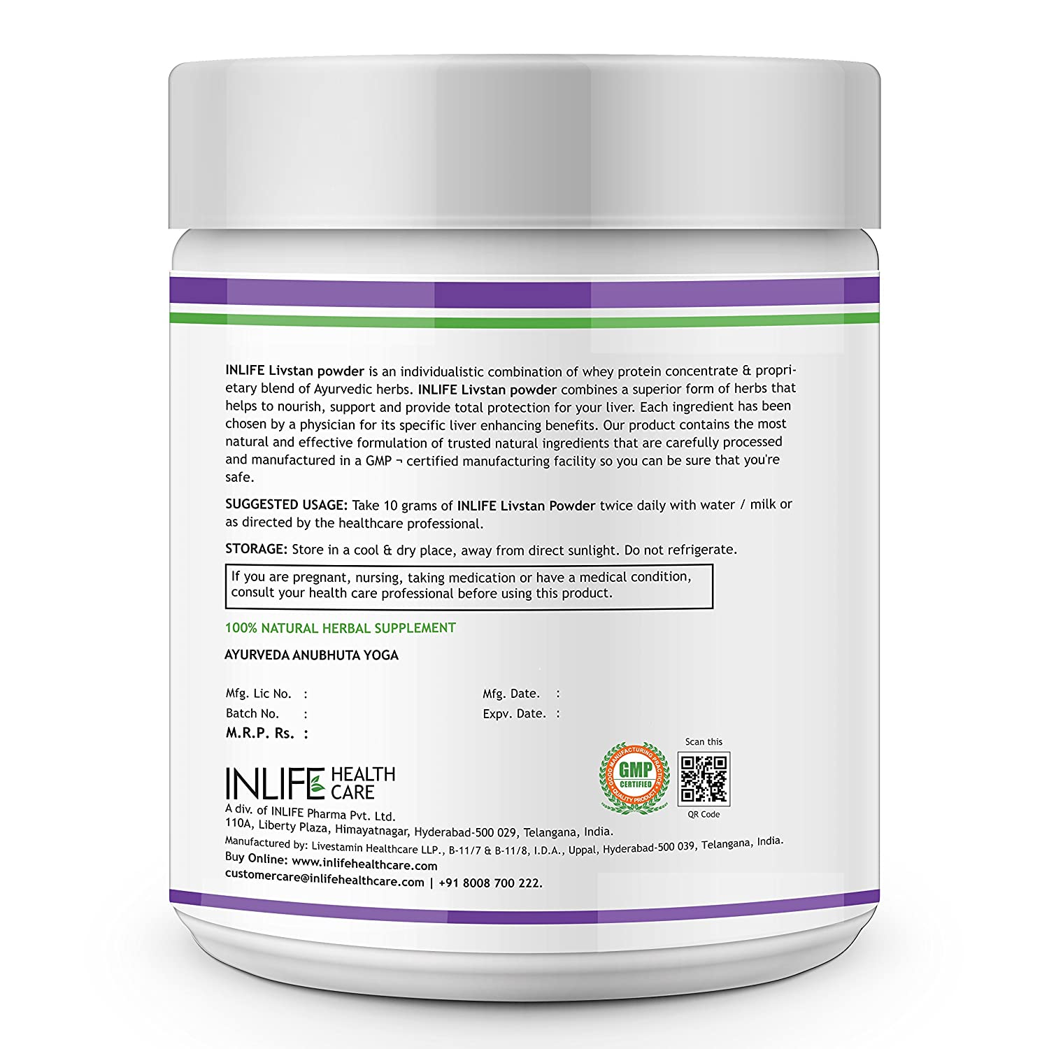 Care from health herbal india product -  Liver Care Cleanse Support Formula Detoxifier Whey Protein With Ayurvedic Herbs 300 G Vanilla Flavour Online At Low Prices In India Amazon In