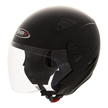 CASCO SHIRO JET SH-60 MANHATHAN NEGRO MATE