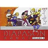 Diapason Rouge, volume 1 : Carnet de 400 chants de variété française et internationale avec accords de guitare