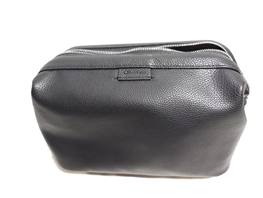 8408807d8e1 Image Unavailable. Image not available for. Color: Calvin Klein DOBB KIT  Travel Cosmetic Toiletry Bag Case ...