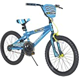 Dynacraft Boys Firestorm Bike, Blue/Black/Yellow, 20""