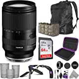 Tamron 28-200mm f/2.8-5.6 Di III RXD Lens for Sony E with Altura Photo Advanced Accessory and Travel Bundle