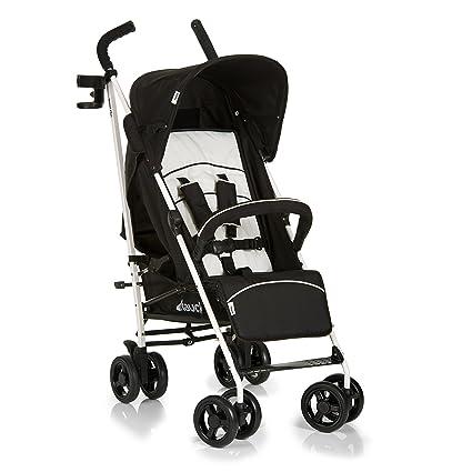 Hauck Speed Plus S - Silla de paseo para bebes, sistema de arnés de 5 puntos, respaldo reclinable, compacta y ligera, plegable, incluido botellero, ...