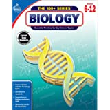 Carson Dellosa The 100 Series: Biology Workbook—Grades 6-12 Science, Matter, Atoms, Cells, Genetics, Elements, Bonds…