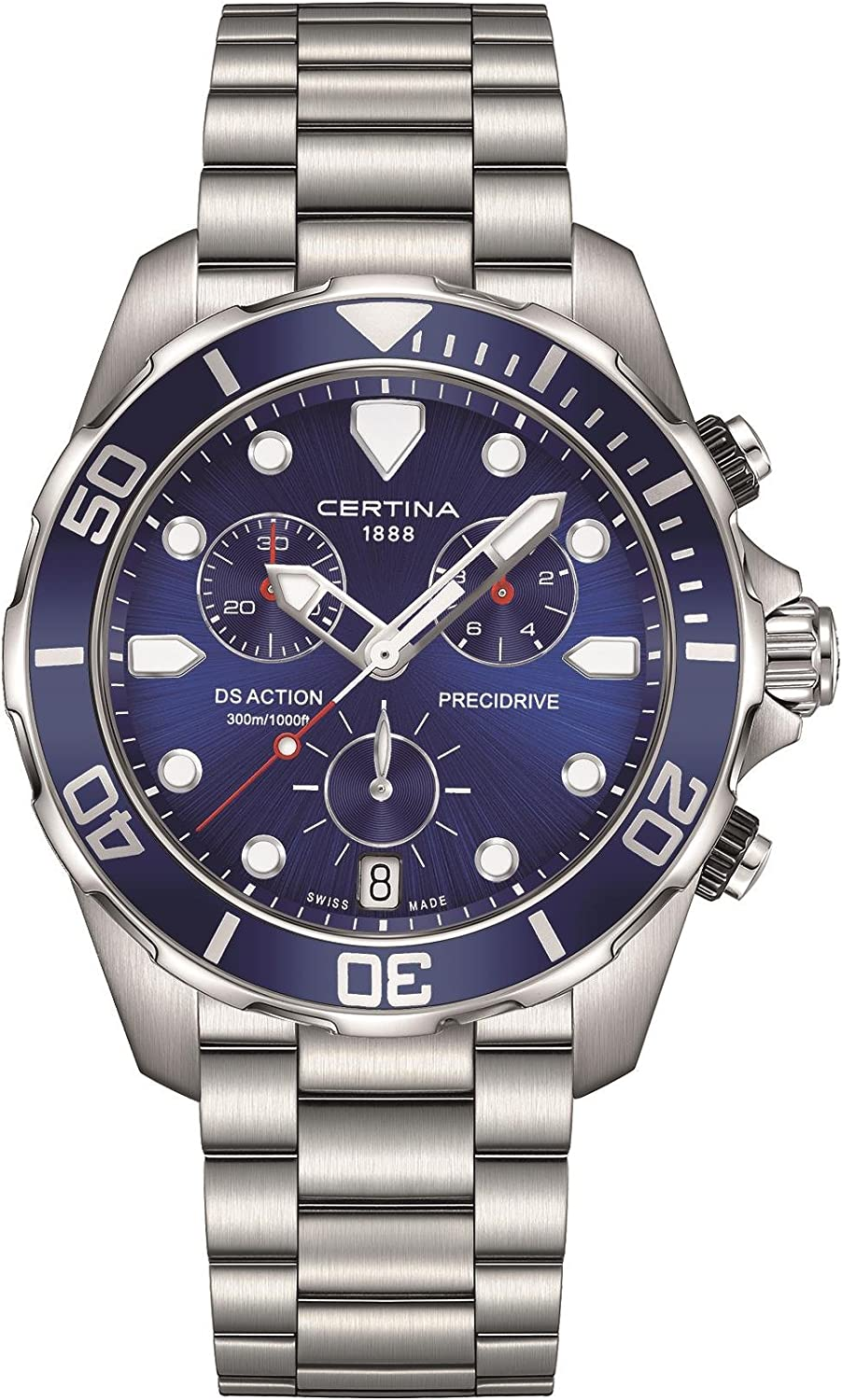Certina DS Action C032.417.11.041.00 Reloj para hombres muy deportivo
