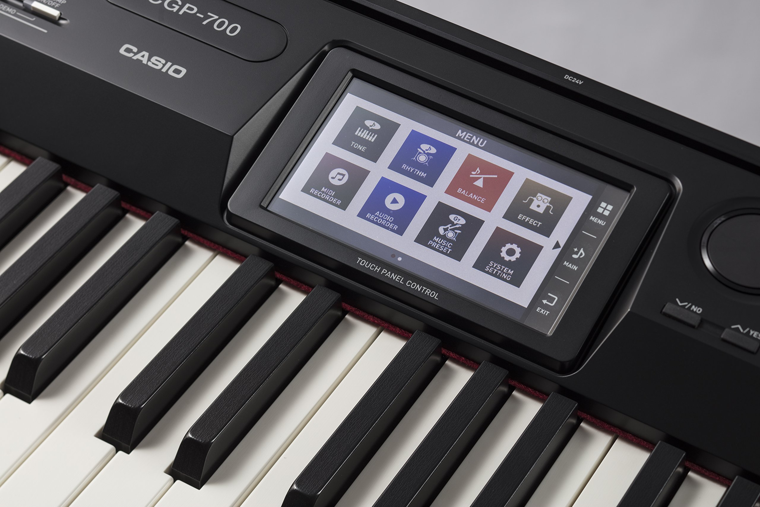 Casio CGP-700BK 88-Key Compact Grand Digital Piano Bundle with Furniture-Style Bench, Dust Cover, Instructional DVD, Instructional Book, Sustain Pedal, and Polishing Cloth - Black by Casio (Image #9)
