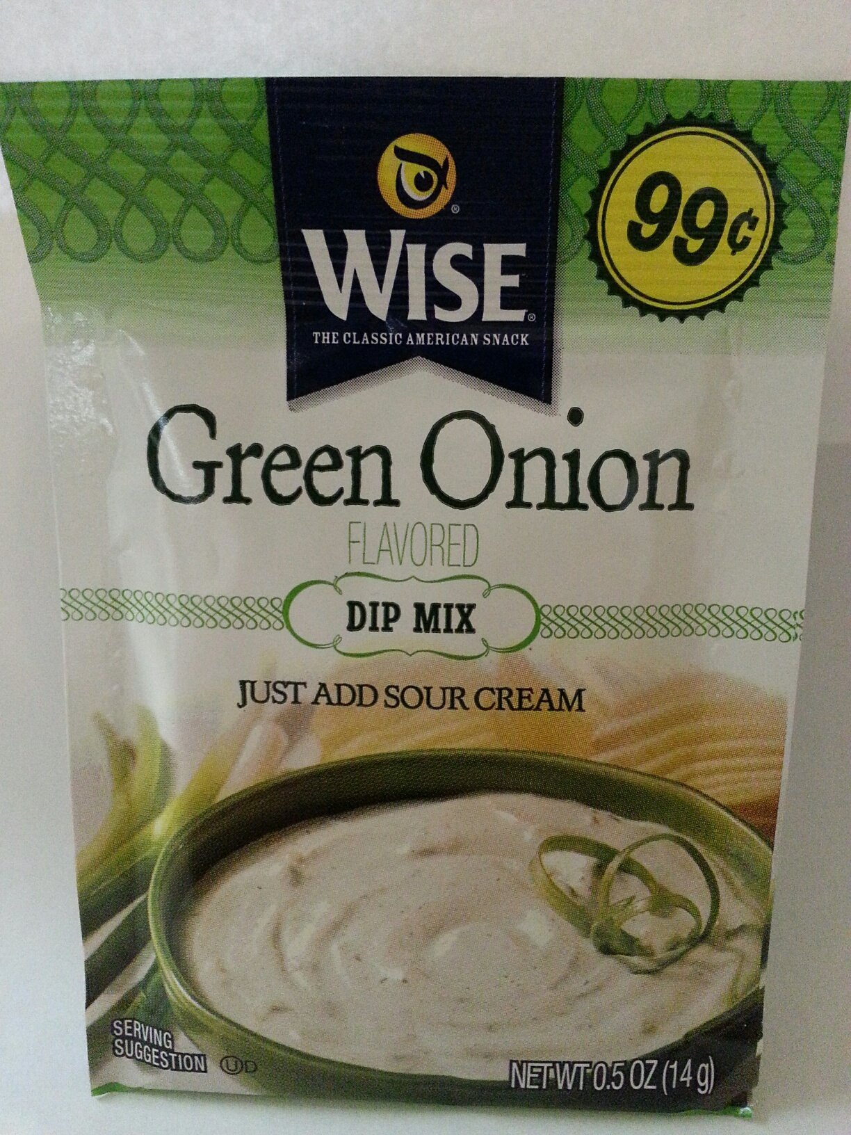 Wise Green Onion Dip Mix 10 Pk by Wise Snack Foods