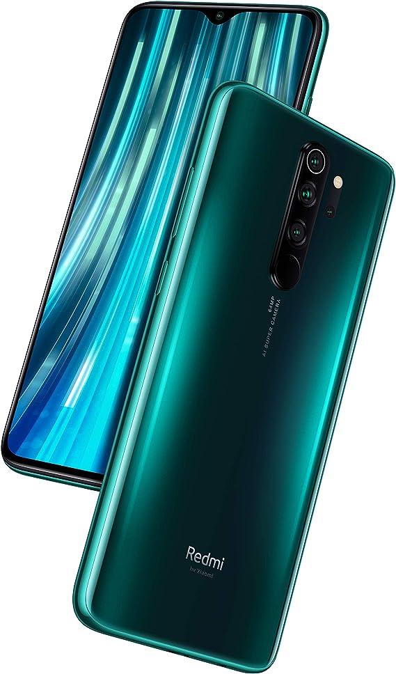 Amazon Com Xiaomi Redmi Note 8 Pro 64gb 6gb Ram 6 53 Lte Gsm 64mp Factory Unlocked Smartphone Global Model Forest Green