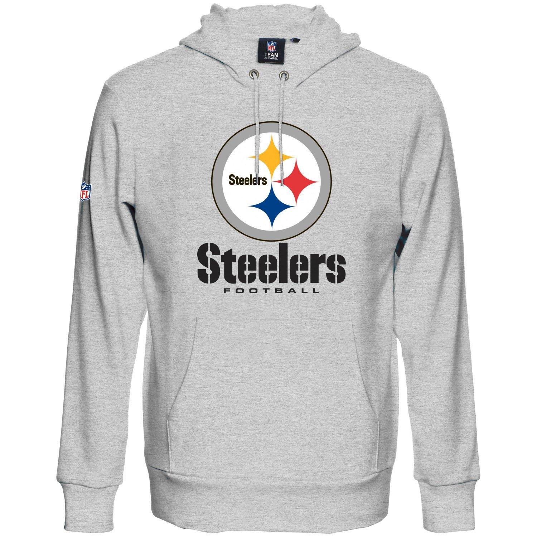 Pittsburgh Steelers schwarz Majestic RAIYNA Hoody