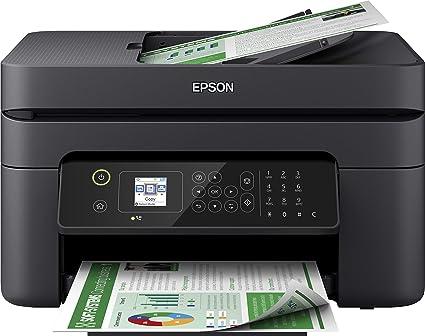 Epson WorkForce WF-2830DWF - Impresora multifunción de inyección de tinta 4 en 1 (impresora, escáner, copia, fax, ADF, WiFi, dúplex, cartuchos ...
