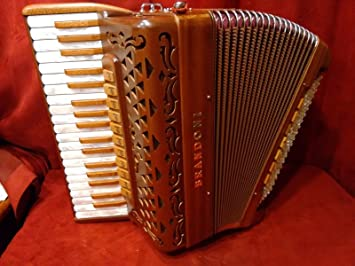 Nueva Brandoni Piano acordeón libertad 131 W madera lmmm 37 ...