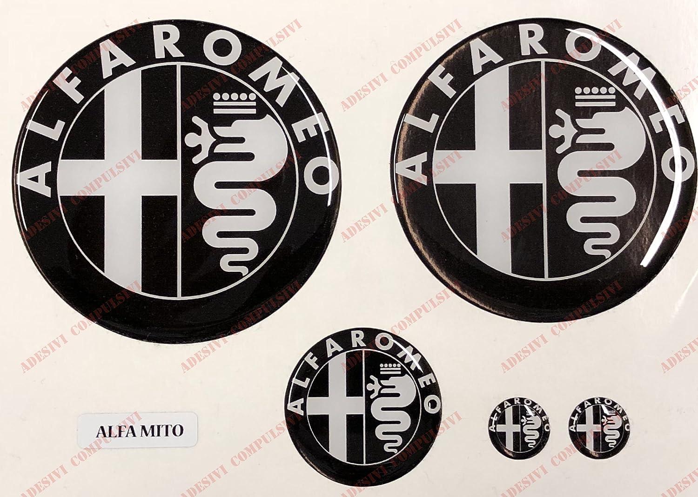 Logo Alfa Romeo Mito delantera, trasera + Volante + 2 para ...