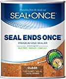 SEAL ENDS ONCE Premium end cut sealer for wood decks & steps. Top-rated Ipe end sealer that protects the exposed ends of…