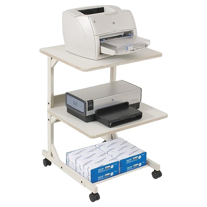 Amazon.com: Balt 23701 Dual Impresora láser Stand con 3 ...