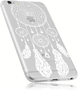 mumbi Case Compatible with iPhone 6 / 6S Mobile Phone Case with Dream Catcher Motif Transparent