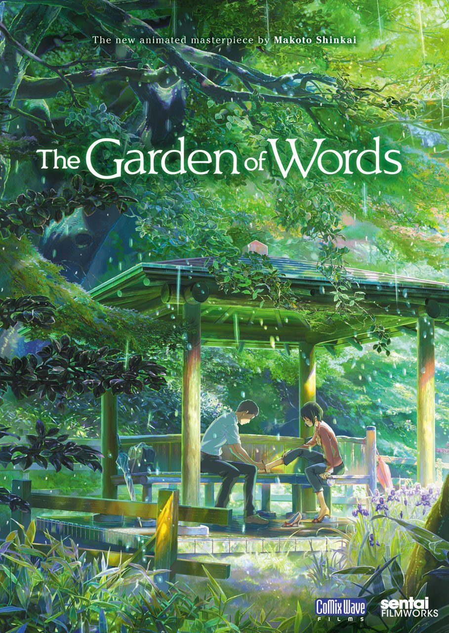 amazon com garden of words makoto shinkai movies u0026 tv