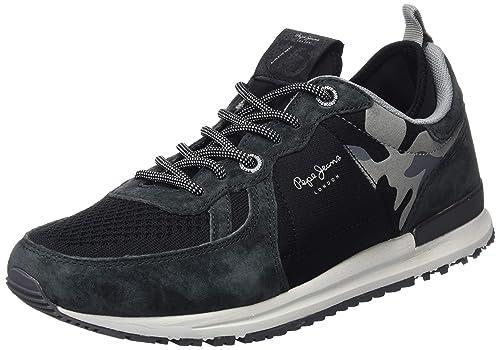 13f2345e2cb Pepe Jeans London Tinker Pro-73, Zapatillas para Hombre: Amazon.es: Zapatos  y complementos