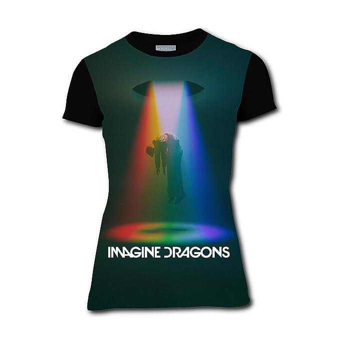 amazon com imagine dragons evolve 3d printed short sleeve crew neck
