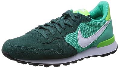 classic fit 849b1 a6ae7 Nike WMNS Classic Cortez Prem, Chaussures d Athlétisme Femme, Multicolore  Plum Chalk