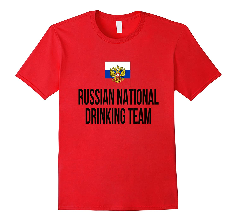 Russian National Drinking Team National Pride Beer T-shirt-Awarplus