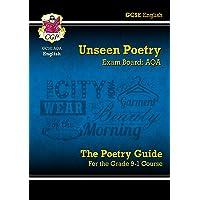 Grade 9-1 GCSE English Literature AQA Unseen Poetry Guide - Book 1