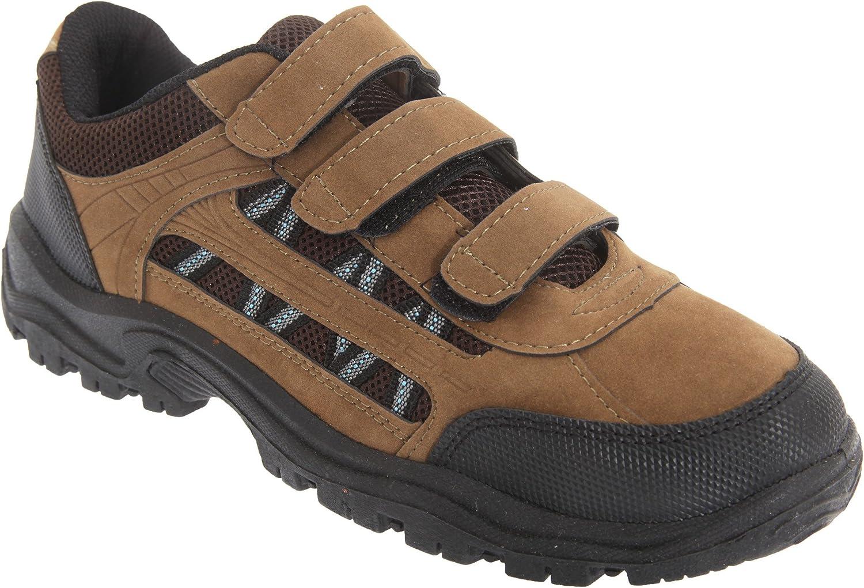 Dek Mens Ascend Triple Touch Fastening Trek Hiking Trail Shoes