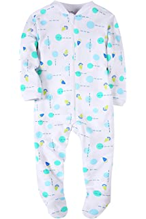 2bf8eebe3 Carter s Baby Girls 2-Pack Cotton Footed Pajamas  Amazon.ca ...