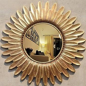 Ymxlqq Retro Konische Spiegel Feder Sonnenbrille Wand Gehangen