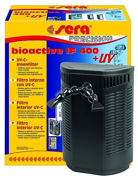 Sera 30598 Bioactive IF 400 + UV Filtro Interior Filtro versátil Interior con Sistema de c
