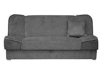Mirjan24 Schlafsofa Gemini Mit Bettkasten 3 Sitzer Sofa Couch Mit