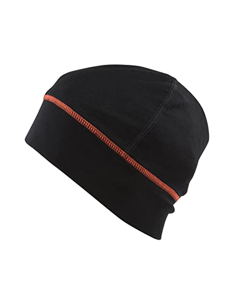 Amazon.com  100% Imported Australian Merino Wool Stretch Fit Light Weight  Insulated Black Beanie Hat 190 GSM Running Hat 8f7e2625764