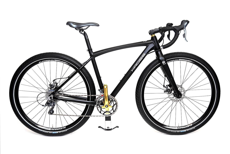 XROSS(クロス) 29er(28インチ径)ファットタイヤ(2.35インチ幅) ロードバイク クロスオーバーロードB3(ビースリー) B316ZA00 B01IRJHK3Uピュアブラックマット