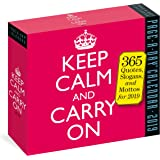 2019 Keep Calm and Carry on Page-A-Day Calendar