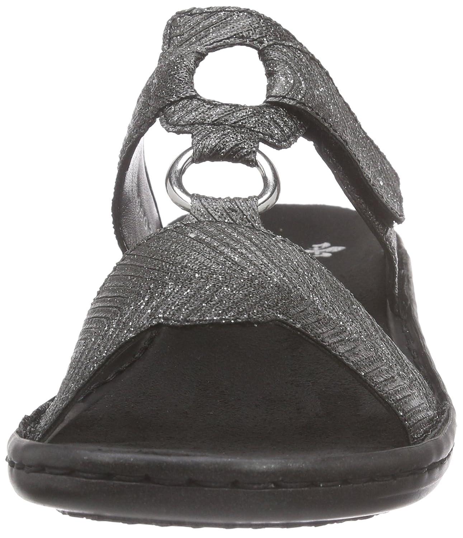 Rieker 608a0 Damen Pantoletten  Rieker  Amazon.de  Schuhe   Handtaschen 769dfe6569