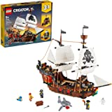 LEGO Creator 3in1 Pirate Ship 31109 Building Playset for Kids who Love Pirates and Model Ships, Makes a Great Gift for Childr